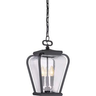 Quoizel Province Mystic Black Large Hanging Lantern