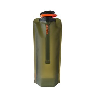 Vapur Microfilter Water Bottle in Olive