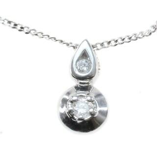 Michael Valitutti 14k white Gold Diamond Pendant