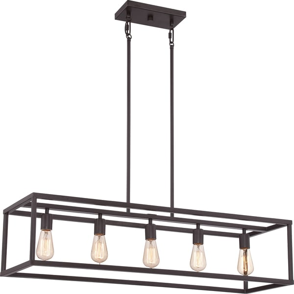 Quoizel New Harbor Western Bronze Island 5-light