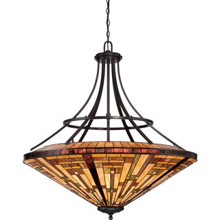 Quoizel Stephen Vintage Bronze 8-light Pendant