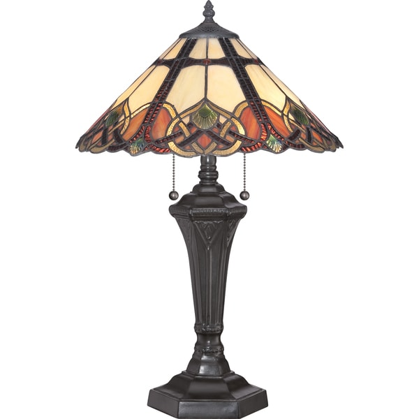 Quoizel Cambridge Vintage Bronze Table Lamp
