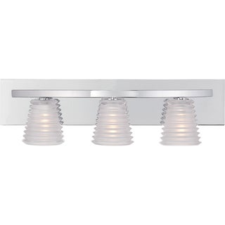 Quoizel Cosmic 3-light Chrome Bath Light
