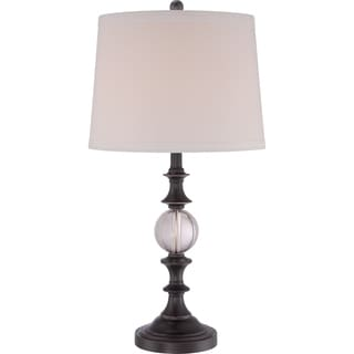 Quoizel Portable Lamp Buckler Palladian Bronze Finish Table Lamp