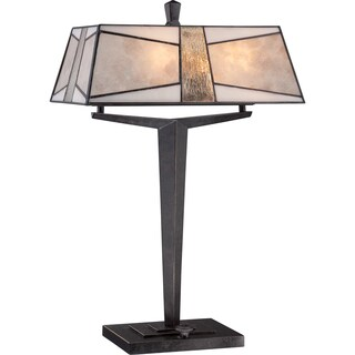 Alistar Imperial Bronze Finish 2-light Table Lamp