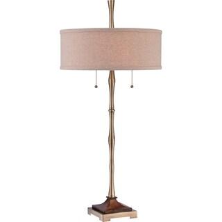 Quoizel Hickman 1-light Bronze Table Lamp