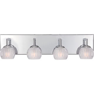 Platinum Collection Barron Polished Chrome Four-Light Bath Fixture
