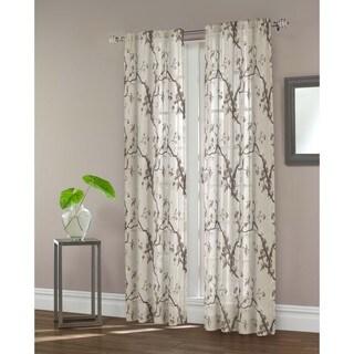 Maytex Daphnia Sheer Window Curtain