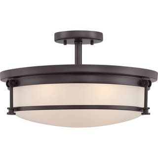 Sailor 4 Light Western Bronze Semi Flush Mount