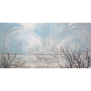 Marmont Hill Art Collective 'Twin Lake Effect' Canvas Art