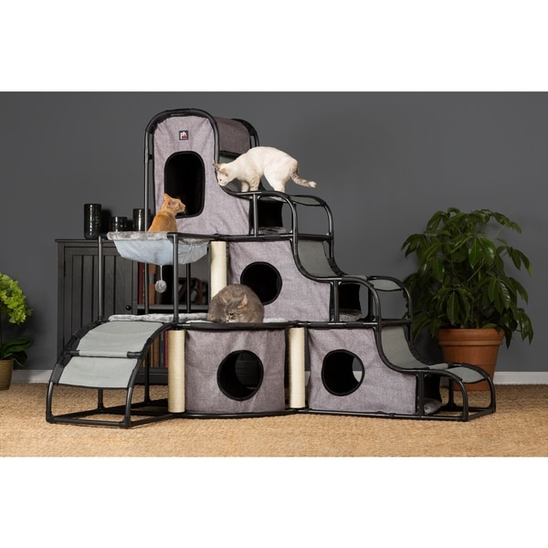 Prevue Pet Products Catville Tower. Opens flyout.