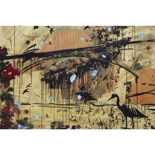 Marmont Hill - Handmade Aquaduct Canvas Art