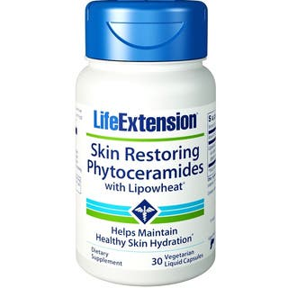 Life Extension Skin Restoring Phytoceramides With LipoWheat (30 Vegetarian Liquid Capsules)|https://ak1.ostkcdn.com/images/products/10042579/P17187434.jpg?impolicy=medium