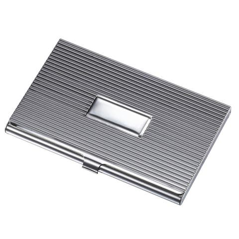 Buy metal business card holders online at overstock our best visol zeus ribbed business card case colourmoves