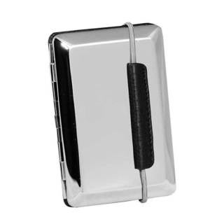 Visol California Chrome Steel Business Card Case