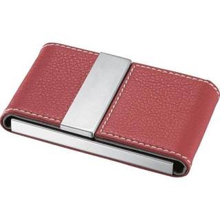 Visol Dasia Red Leather and Stainless Steel Business Card Case https://ak1.ostkcdn.com/images/products/10042799/P17187598.jpg?impolicy=medium