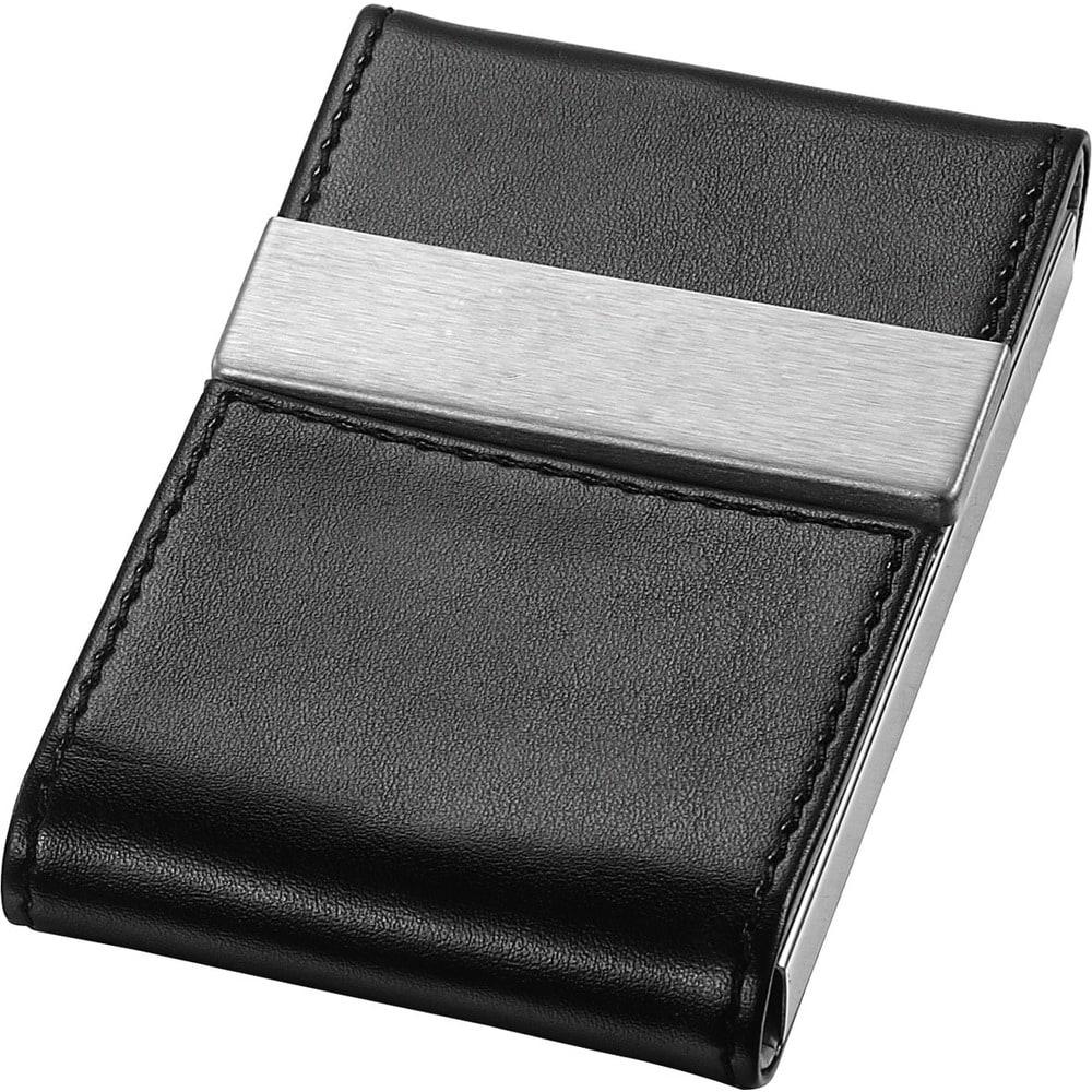 Visol Mayfair Black Business Card Case