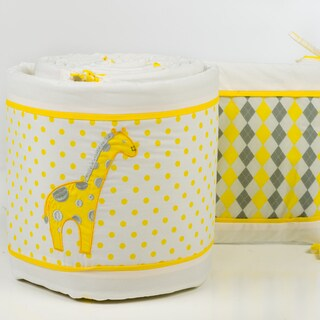 Pam Grace Creations 4-Piece Argyle Giraffe Crib Bumpers|https://ak1.ostkcdn.com/images/products/10042812/P17187665.jpg?_ostk_perf_=percv&impolicy=medium