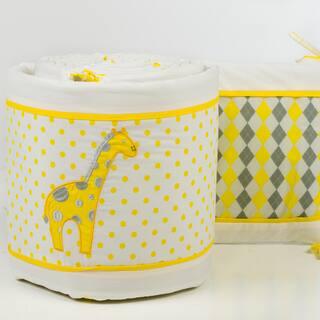 Pam Grace Creations 4-Piece Argyle Giraffe Crib Bumpers|https://ak1.ostkcdn.com/images/products/10042812/P17187665.jpg?impolicy=medium