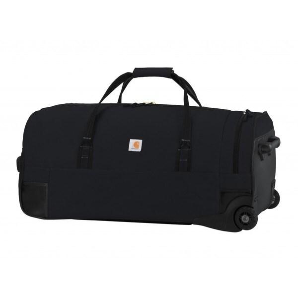 3014a3187f3d Carhartt Black Legacy 30-inch Wheeled Gear Duffel Bag