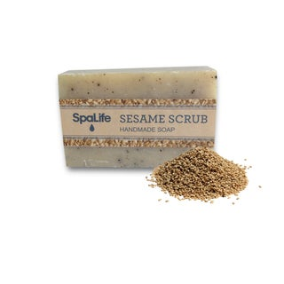 Spa Life Hand-made Sesame Scrub Soaps (Pack of 2)