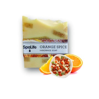 Spa Life Hand-made Orange Spice Soap (Pack of 2)