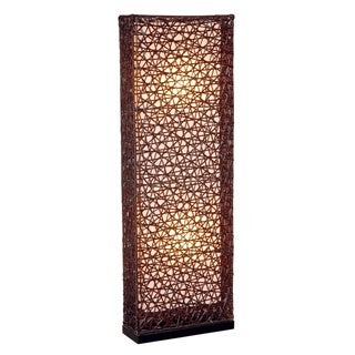 Decorative Archie Brown Geometric Transitional Floor Lamp