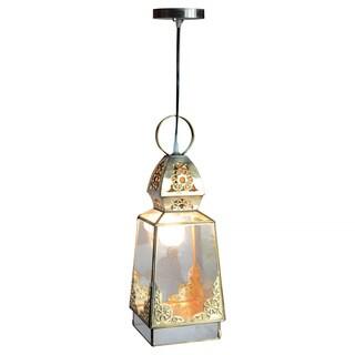 Decorative Corder Gold Elegant Transitional Hanging Pendant Lamp
