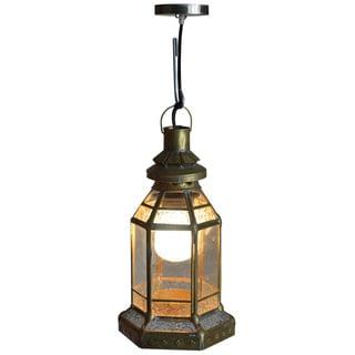 Decorative Crocker Gold Elegant Tiffany Style Hanging Pendant Lamp