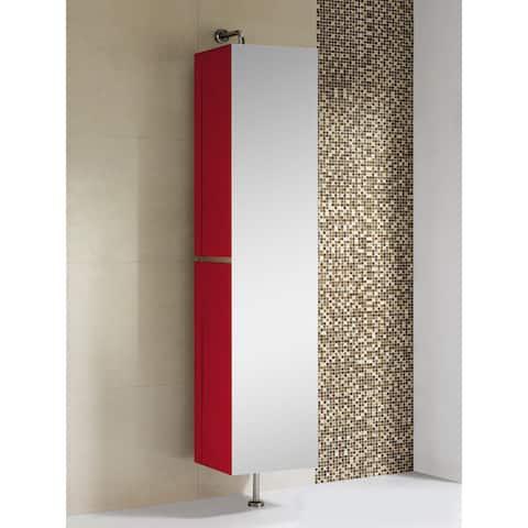 Fine Fixtures Sundance 15-inch High Gloss Linen Cabinet