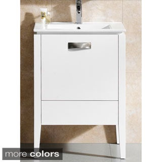 Fine Fixtures Manchester 24-inch Vanity with Vitreous China Sink Top