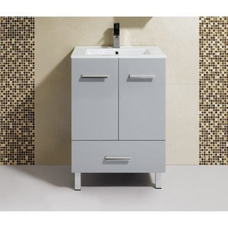 Fine Fixtures Atwood 24-inch Vanity with Vitreous China Sink Top