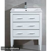 Fine Fixtures Ironwood 24-inch Vanity with Sink Faucet and Pop-up Drain
