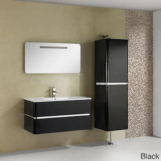 Fine Fixtures Sundance 40 Inch High Gloss Vanity With Vitreous China Sink Top