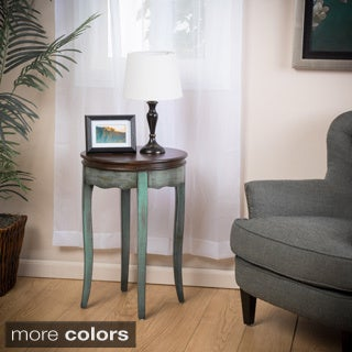 Atherton Multi-Color Wood Accent Table by Christopher Knight Home