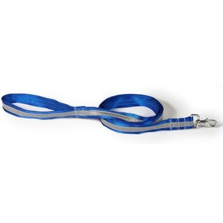 Petflect Royal Blue/Silver Reflective AdventurePlay Leash