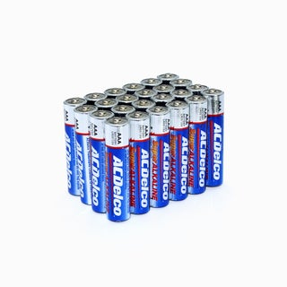 ACDelco Super Alkaline 'AAA' Batteries (Set of 24)