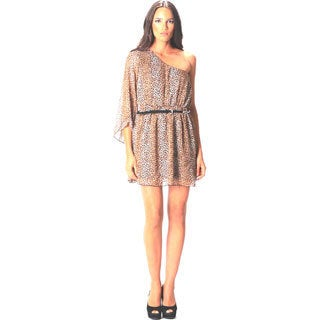 Sara Boo A-Line Animal Print Dress