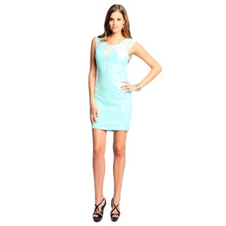 Sara Boo Women's Deep V-Neck Lace Dress (4 options available)