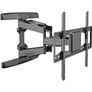 Loctek TV Wall Mount with 32 to 70-inch Mounting Bracket, and Full-Motion, Articulating Arm