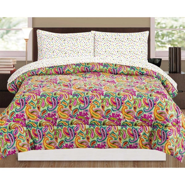 Rampage Pia Paisley 5-piece Comforter Set