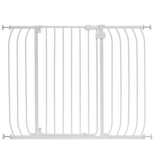 Summer Infant Anywhere Auto Close White Metal Gate