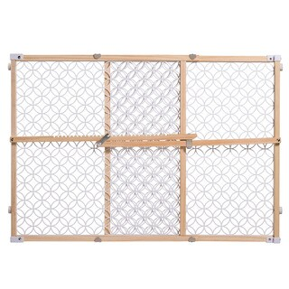Summer Infant Secure Pressure Mount Wood and Plastic Gate