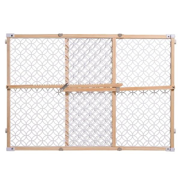 Shop Summer Infant Secure Pressure Mount Wood And Plastic Gate
