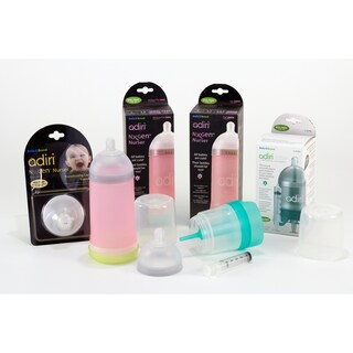 Adiri NxGen Stage 2 and 3 Infant Feeding System with Medicine Delivery System (Option: Pink)