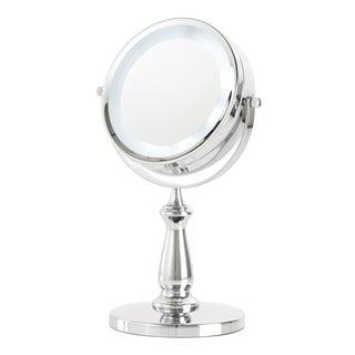 Danielle Chrome 8-inch L.E.D. Vanity Mirror