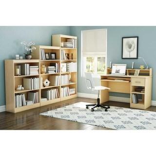 South Shore Axess 4-shelf Natural Maple Bookcase
