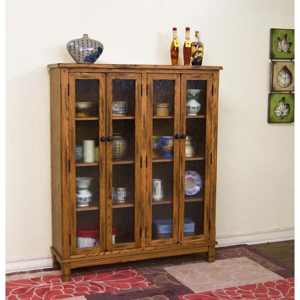 Shop Sunny Designs Sedona 4 Door Bookcase Free Shipping