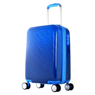 "Olympia ""T-Line Gam"" 25-inch Polycarbonate Hardside Spinner Upright Suitcase"