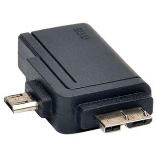 Tripp Lite 2-in-1 OTG Adapter USB 3.0 Micro B & USB 2.0 Micro B to US